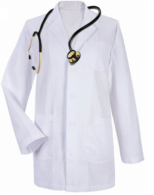 empty lab coat