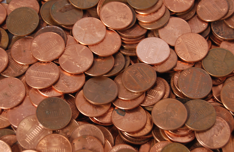 Time for good old common pennies, amirite?