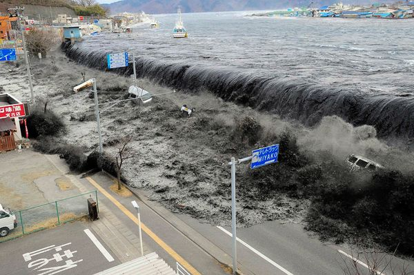 They don't build tsunamis with past generations' money, do they?
